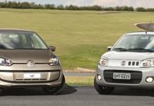 Volkswagen up! vs. Fiat Uno