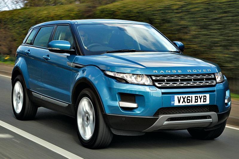 Range Rover Evoque com motor a diesel