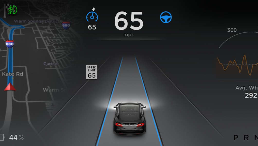 Sensores monitoram o que se passa em um ângulo de 360° ao redor do veículo (Foto: Tesla)