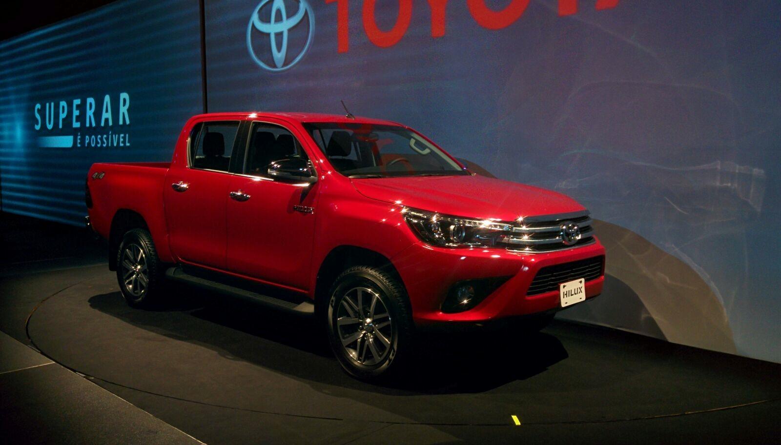 Nova Toyota Hilux 2016 Parte De R 118 690 Confira Fotos