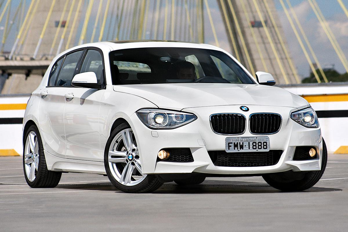 BMW 125i M Sport – R$ 195.950  Tem motor 2.0 flex de 218 cv, câmbio de oito marchas (AT) e tração traseira