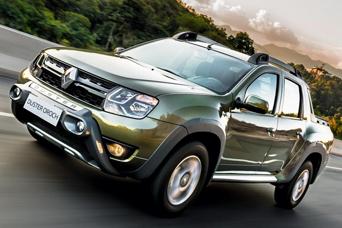 Renault Oroch 2.0 – R$ 72.400  Mais potente e barata, porém menos segura e bela. E (ainda) não automática