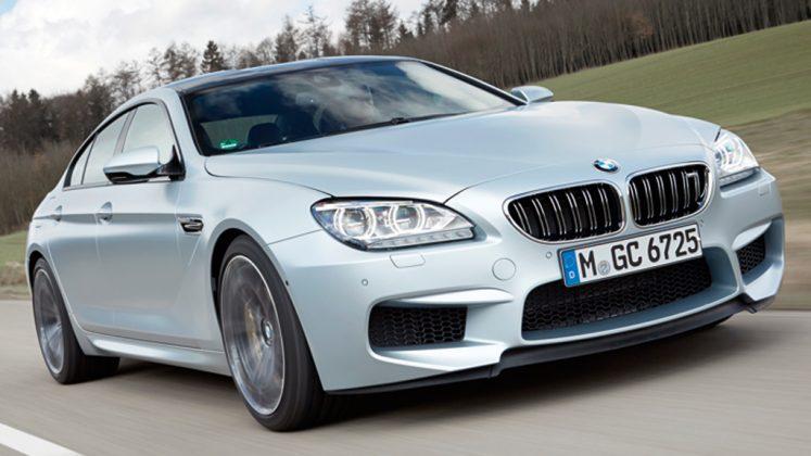 <b>BMW M6 Gran Coupé</b> – R$ 679.950:  Também há mais tempo no mercado, o BMW tem  um poderoso motor V8 4.4 biturbo de 560 cv, com tração apenas traseira e atinge 100 km/h em 4s2