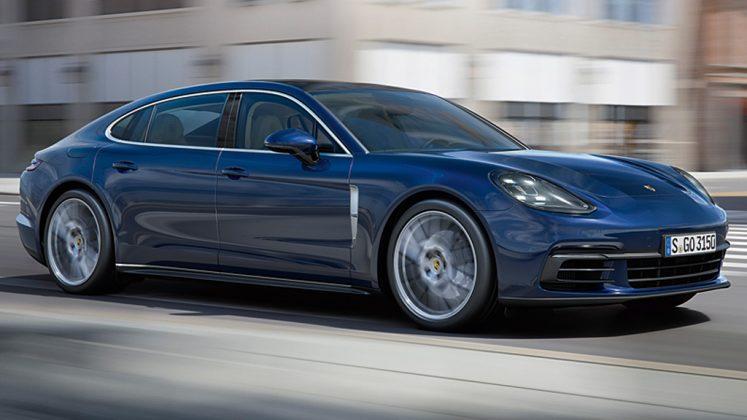 <b>Porsche Panamera V8</b> – R$ 981.000:  A novíssima geração da versão Turbo, com um V8 de 550 cv, vai de 0-100 em 3s8, mas custa bem  mais caro (leia mais sobre <a href=