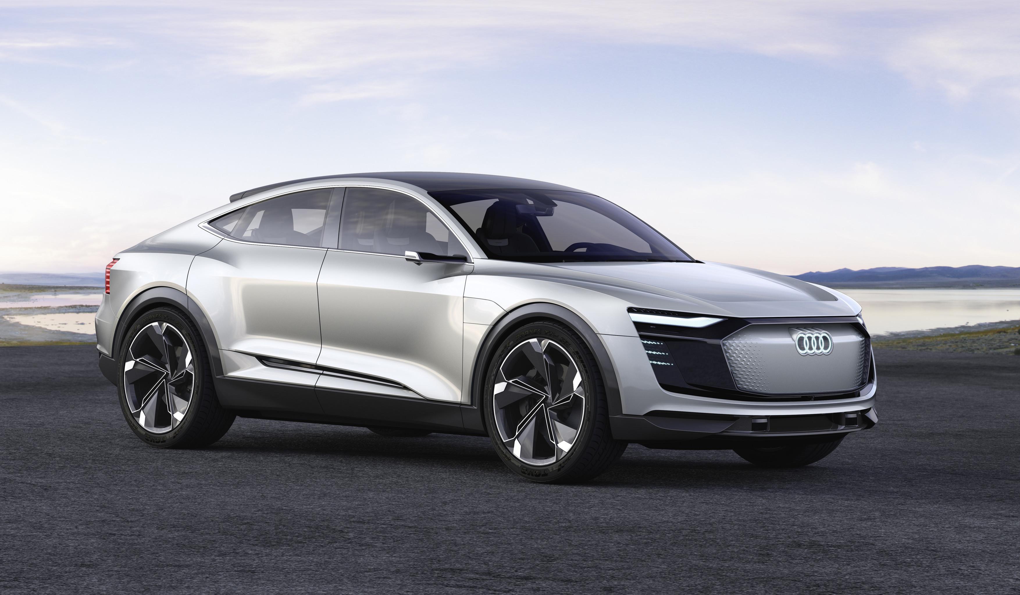 Audi revela conceito elétrico e-tron Sportback - Motor Show