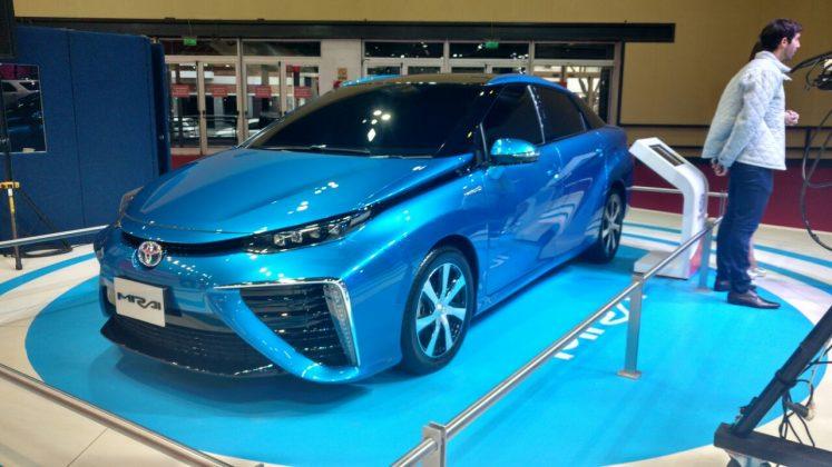 Toyota a hidrogênio