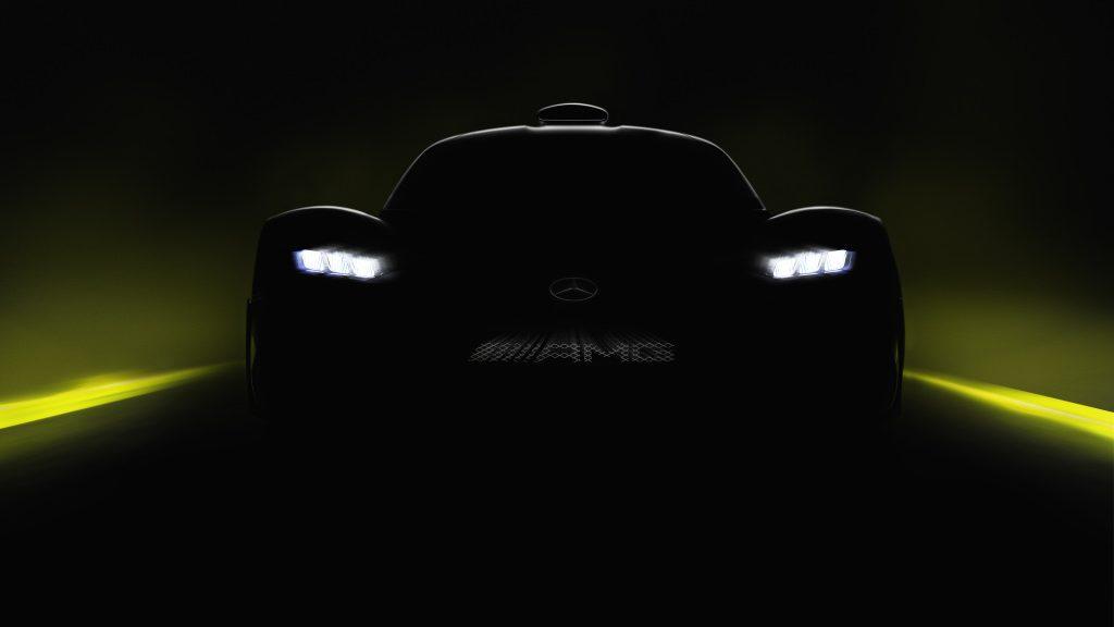 O primeiro hipercarro da Mercedes-AMG está a chegar — Prepare-se