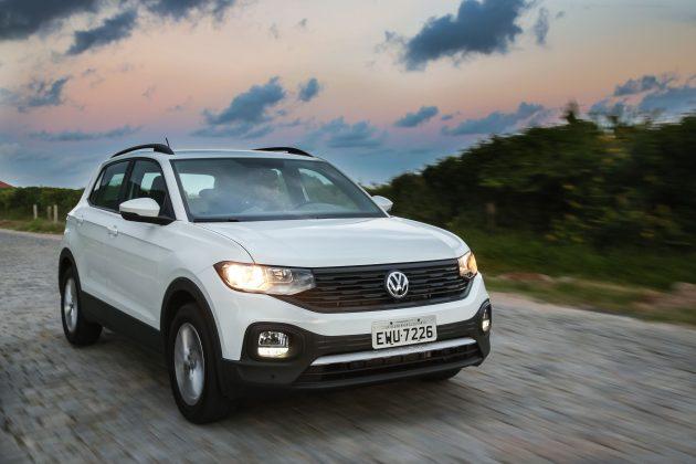 melhor versão do VW T-Cross