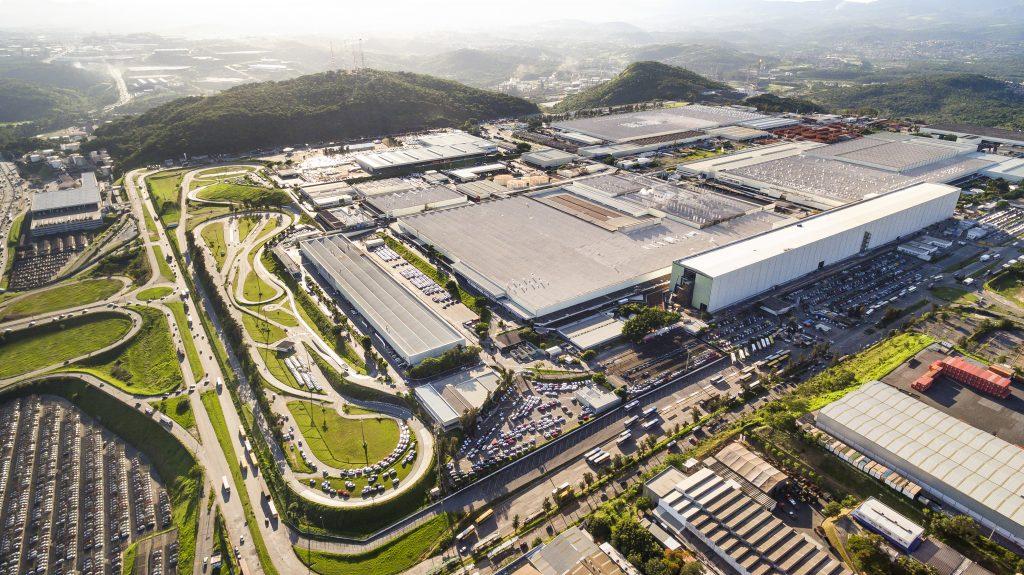 Fábrica da Fiat em Betim (MG)