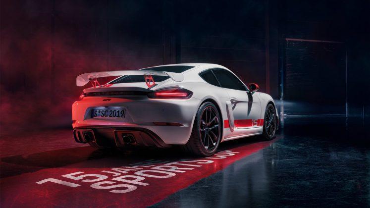Porsche 718 Cayman GT4 Sports Cup Edition (Divulgação)