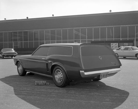 Ford Mustang Station Wagon Concept 1966