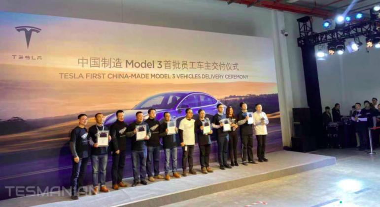 Primeiras unidades do Tesla Model 3 são entregues