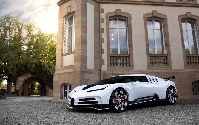 Centodieci celebra os 110 anos da Bugatti