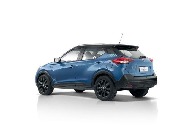 O novo Nissan Kicks conta com chave inteligente I-Key com comandos de abertura e fechamento dos vidros de todas as portas do carro com apenas um toque
