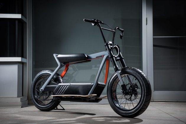 Harley-Davidson apresenta scooter elétrica com bateria removível