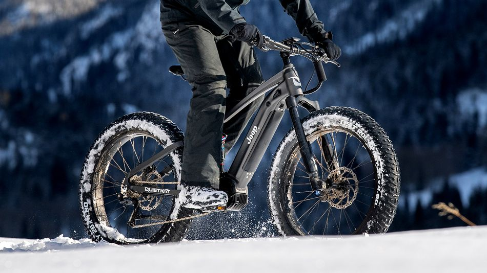 E-bike, a bicicleta elétrica da Jeep