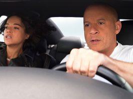 Domk e sua companheira Letty em Velozes e Furiosos 9