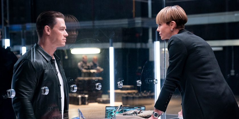John Cena como Jakob, em Velozes e Furiosos 9