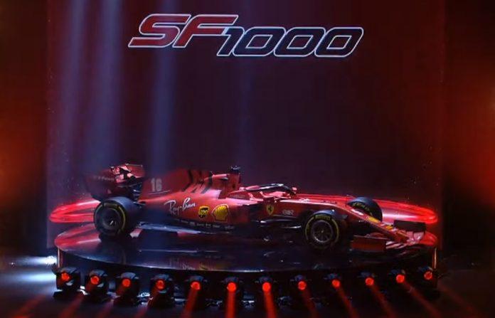 Ferraria apresenta novo carro da F1