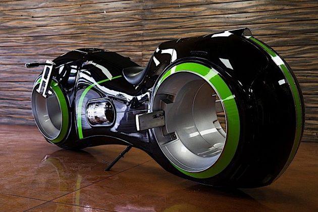 Neutron, a moto inspirada no filme Tron