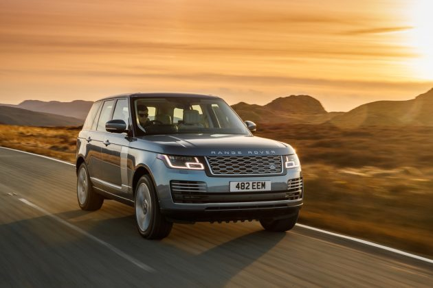 O novo Range Rover híbrido
