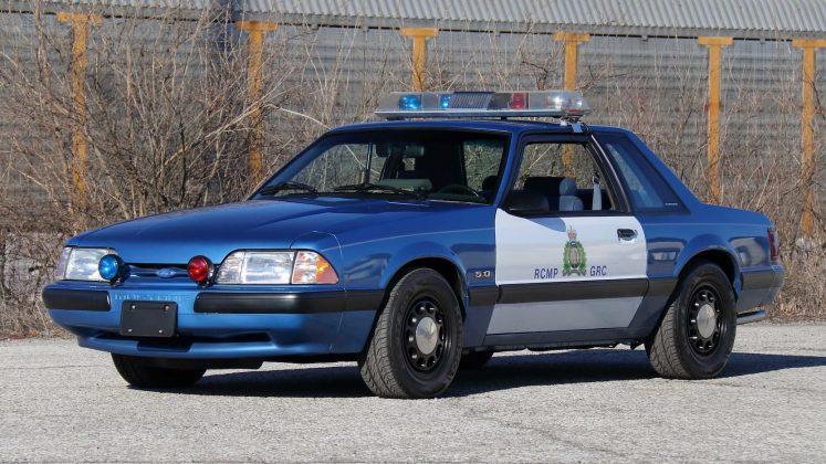 Mustang SSP da Polícia Montada do Canadá irá a leilão