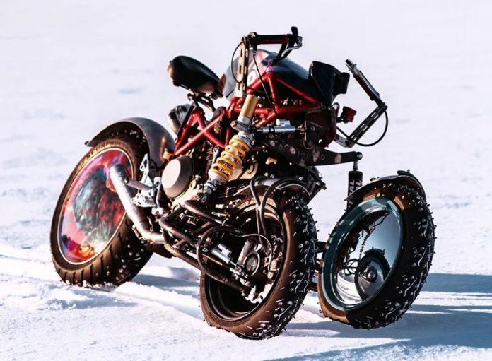 A moto de 3 rodas inspirada em Star Wars criada pela Balamutti
