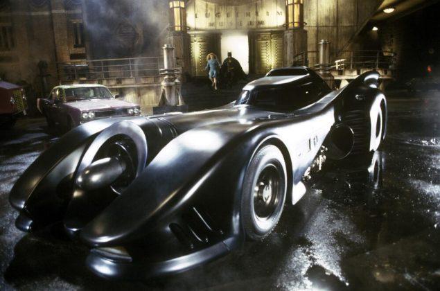 ilmes Batman e Batman Returns tinha linhas de art-deco