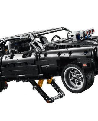 O Dodge da Lego empina como no fime Velozes e Furiosos