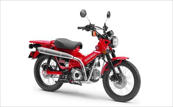 Honda CT125 (Divulgação)