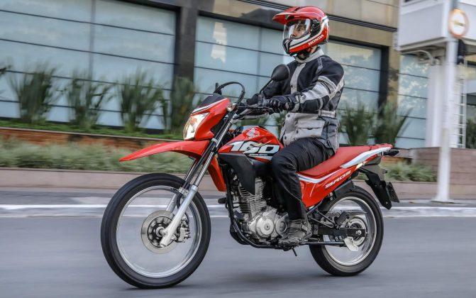 A nova Honda NXR