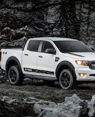 Ford Ranger Storm que vai encarar a nova Chevrolet S10 na briga pelo mercado das picapes médias