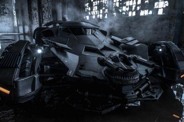 O Batmóvel dirigido por Ben Affleck inovou pouco em Batman v Superman