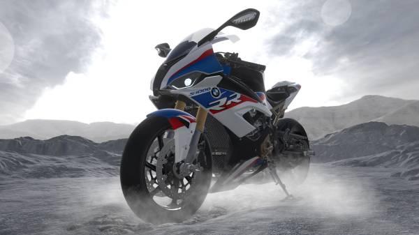 A nova R 1000 SS, a moto superesportiva da BMW