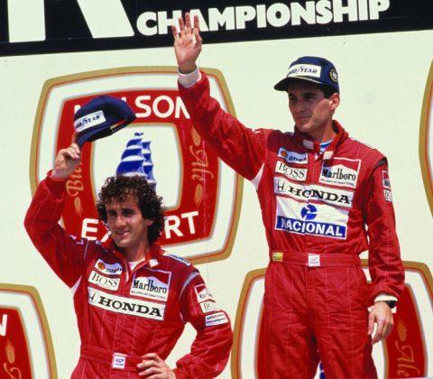 Prost e Senna protagonizaram uma das maiores rivalidades do esporte.
