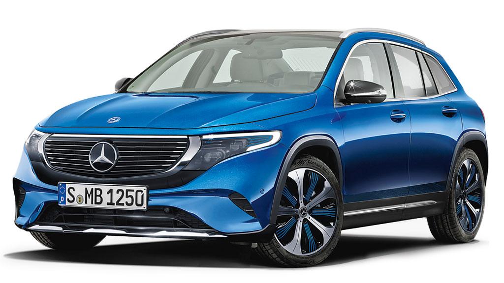 Mercedes-Benz GLA elétrico