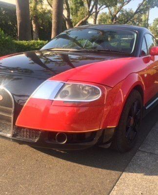 BugAudi: mistura de Audi TT 2002 e Bugatti Veyron
