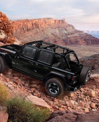 O novo Jeep Wrangler Rubicon
