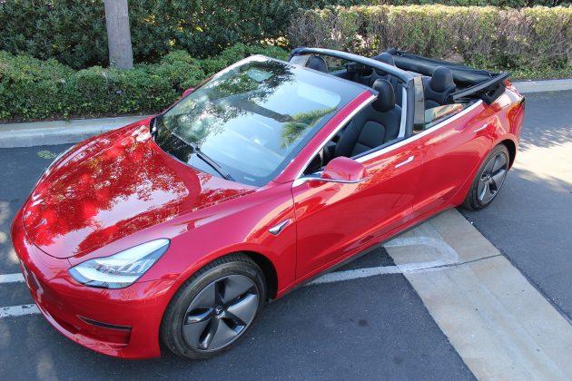 Tesla Model 3 conversível