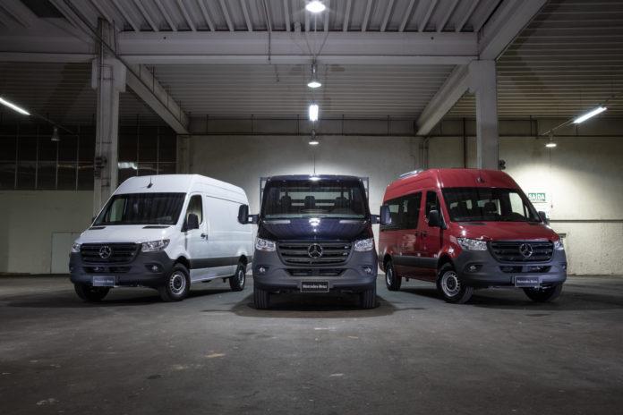 Linha Sprinter da Mercedes está no site que faz venda online de veículos comerciais