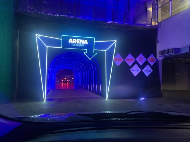 Expectativa: o túnel que dá entrada para o gramado do Allianz Parque. Foto: Helio Gomes/Motor Show