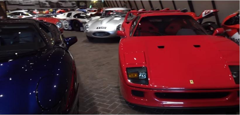 Ferrari F40 e Jaguar XJ220