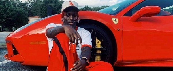 Lil Yatchy destruiu sua Ferrari 488