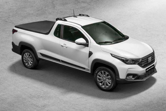 A nova Fiat Strada Cabine Plus terá maior espaço na caçamba