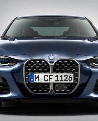 O polêmico BMW 4 Series Coupé com sua grade frontal maior