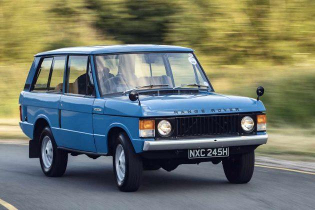 A primeira geração do Range Rover completou 50 anos