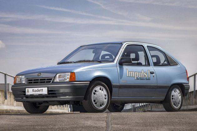 O Kadett Impuls I, 100% elétrico: o protótipo criado pela Opel