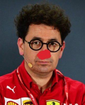 Mattia Binotto, 2020, colorida; o preferido dos memes da F1 esta semana