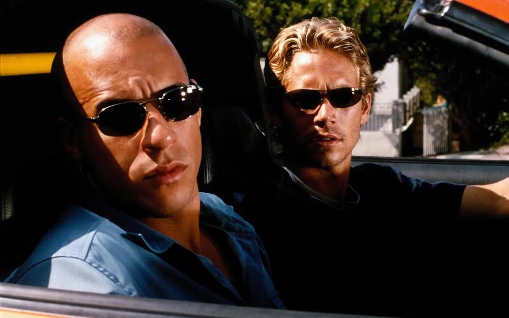 Dominic Toretto (Vin Diesel) e Brian O'Conner (Paul Walker): os protagonistas de Velozes e Furiosos