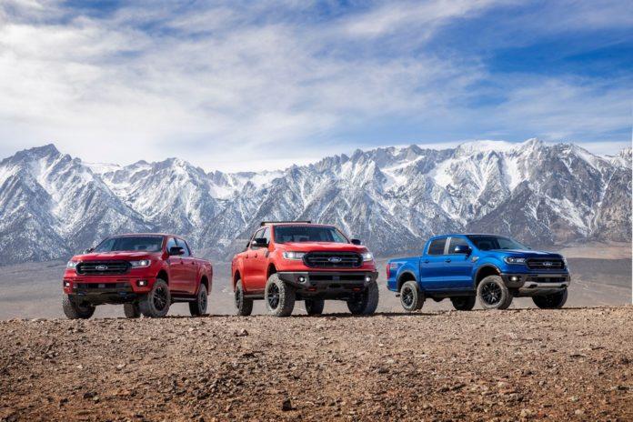 Ford Ranger tornou-se líder de vendas no segmento das picapes médias